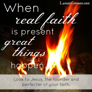 Real faith, faith, greatness, great things happen, look to jesus, look unto me, victory, victorious living, living victoriously, how do i live victoriously, living a life of faith, life of faith, faithful life, faith is a gift, grace of god, God, Jesus, how do i grow in my faith, how does my faith grow, how do i grow my faith, Ephesians 2:8-9, Hebrews, the book of hebrews, Hebrews 12, Hebrews 12:1-2, essentials Christian, Christian living, sin, run, endurance, look to jesus, Hebrews 10-13, Faith is enough, Luke 17:5, increase our faith, apostles, Lord, the Lord, Luke 17:6, ESV Bible, ESV Study Bible, faith seed, Hebrews 12:2, Philippians 1:6, Jesus center of faith, Jesus center, Isaiah 45:22, faith is not passive, faith is active, faith is a verb, grace of God, Hebrews 4:7, choose faith, choose Jesus, choose God, by grace