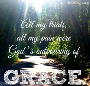 God's outpouring of grace