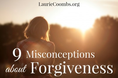 Misconceptions about Forgiveness