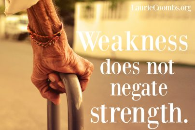 weakness-does-not-negate-strength