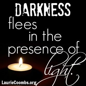 Laurie Coombs 187 Light Enters The Darkness